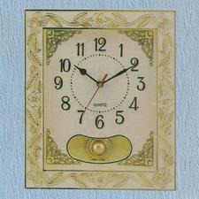Zegar ramka z wahadłem i muzyką #810B