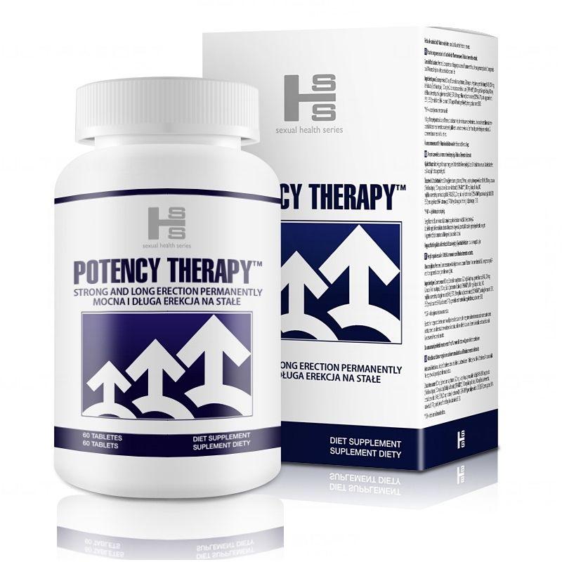 Potency Therapy 60 Tab Tabletki na sprawną erekcję potencję
