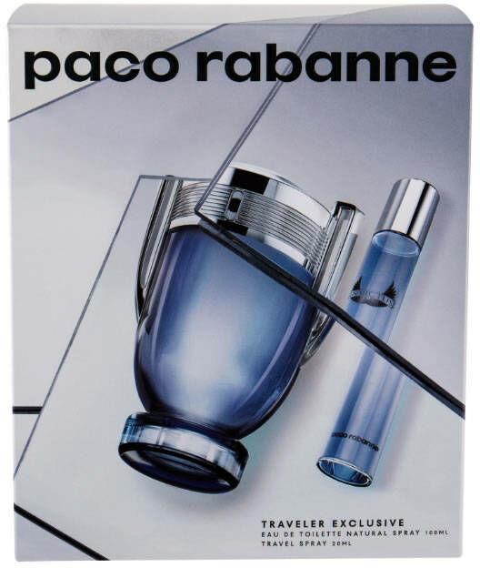 PACO RABANNE Zestaw Prezentowy Invictus EDT spray 100ml + EDT spray 20ml