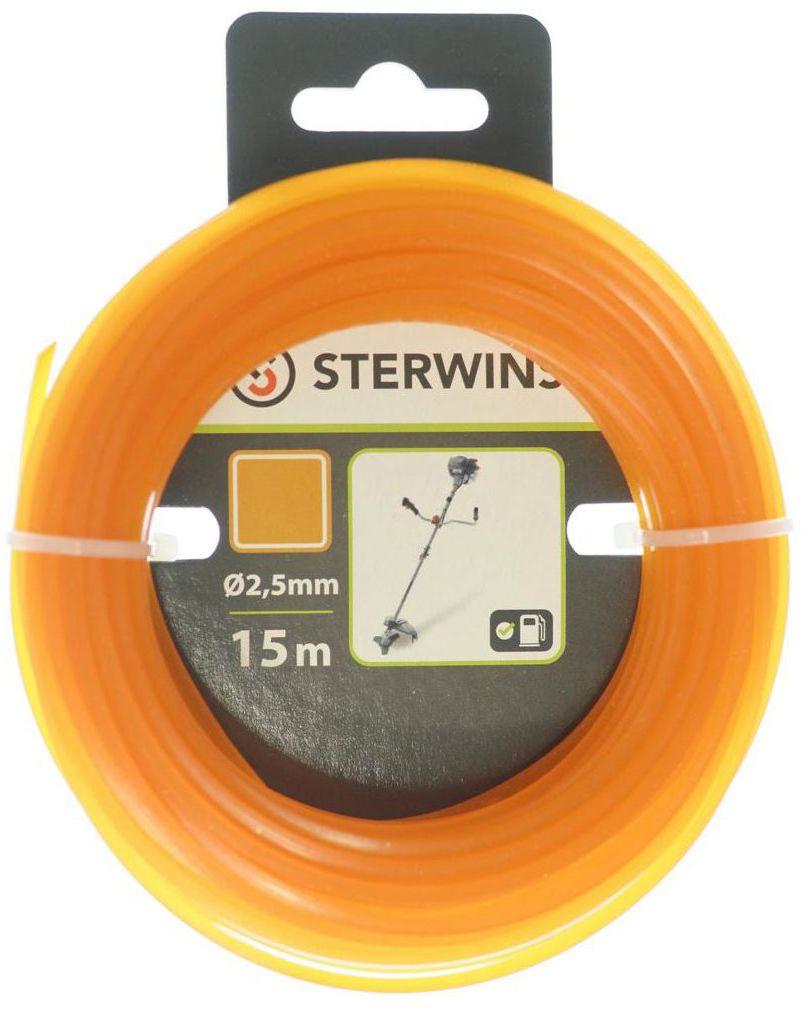 Żyłka tnąca S3ECN3_1 2.5 mm x 15 m STERWINS