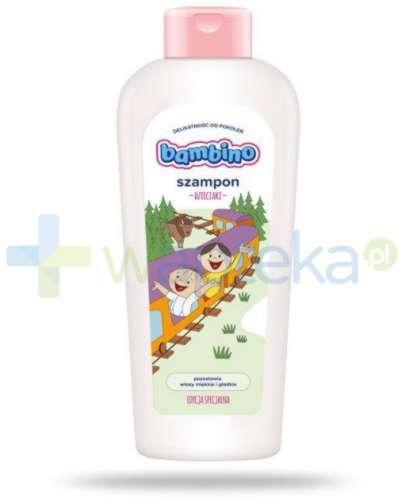 Bambino Dzieciaki szampon Bolek i Lolek puszcza 400 ml