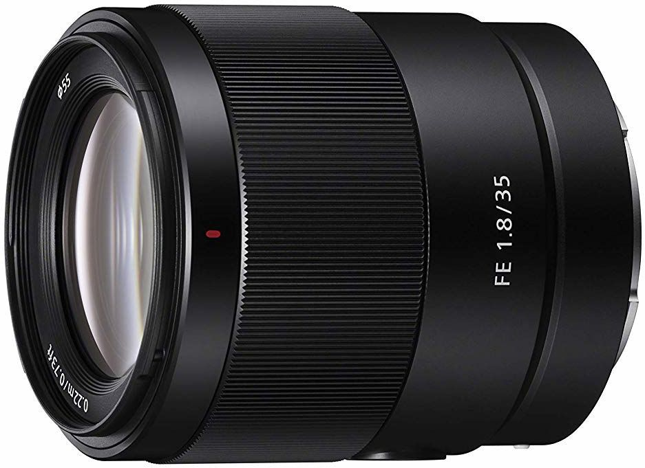Sony FE 35 mm f/1.8 Pełnoklatkowy, stałoogniskowy obiektyw szerokokątny (SEL35F18F)