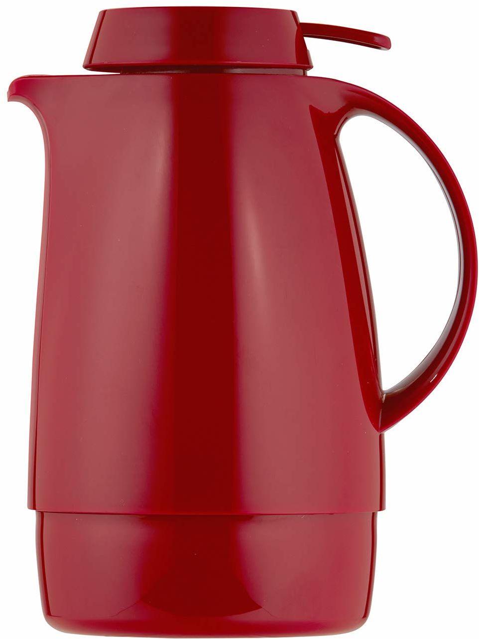 Helios Servitherm termos z tworzywa sztucznego, czerwony, 0,6 litra