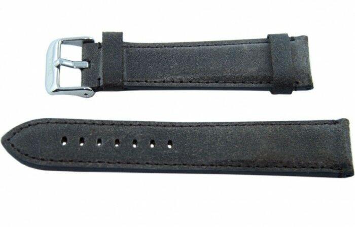 Pasek TEKLA L20 ciemnobrązowy 20mm
