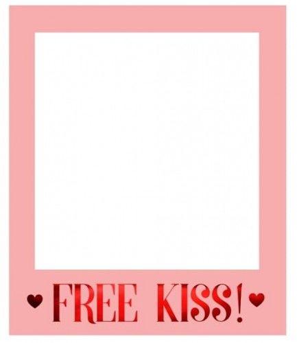 Ramka do selfie Walentynki