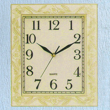 Zegar ścienny ozdobna ramka #811A