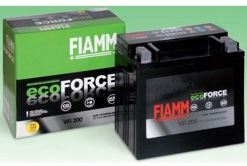 Akumulator Fiamm EcoForce VR200 AGM 12V 12Ah 200A L+