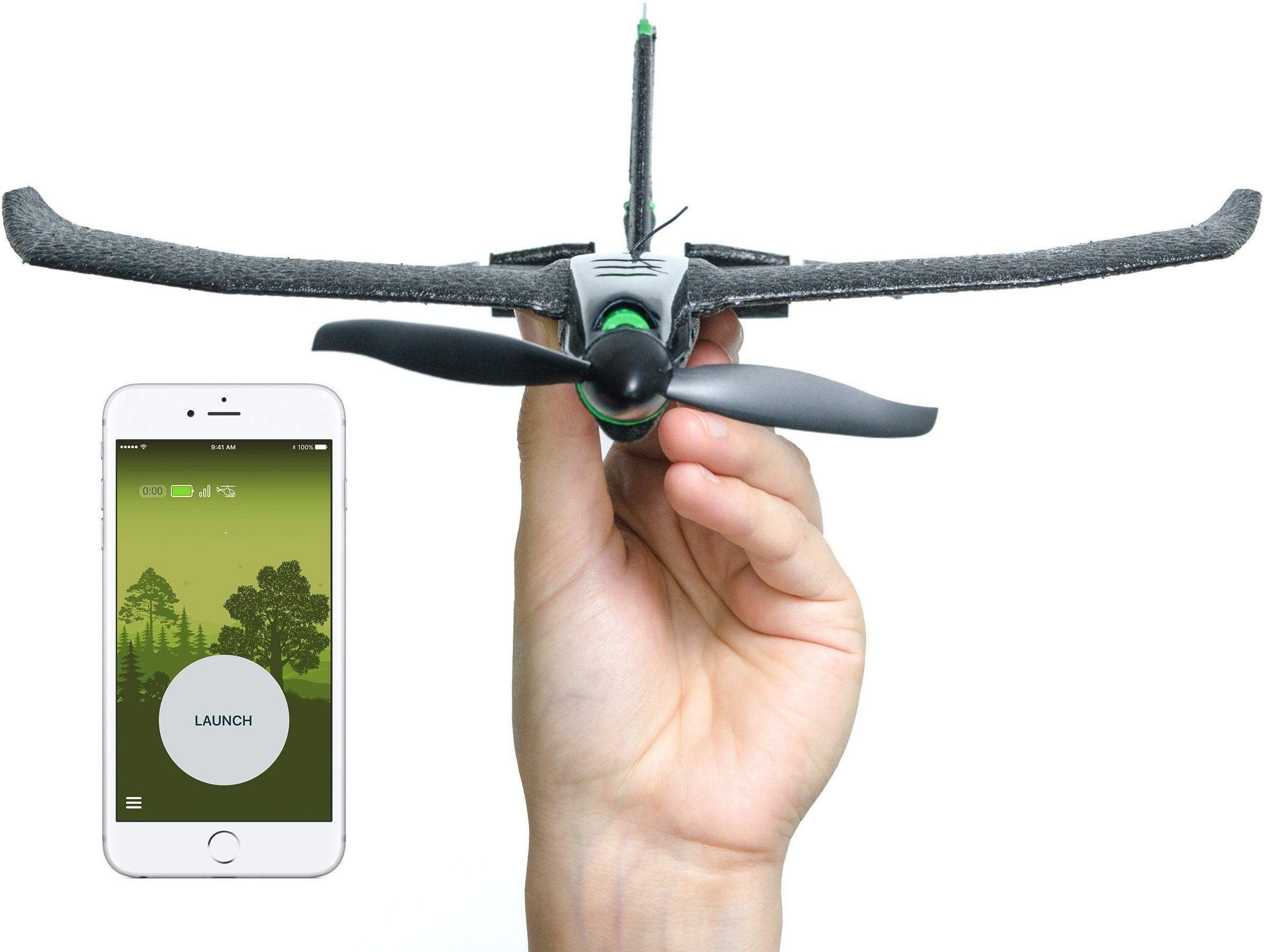 TobyRich SmartPlane Pro: sterowany przez aplikację na smartfona samolot wyczynowy  zdalnie sterowany dron do systemów iOS i Android