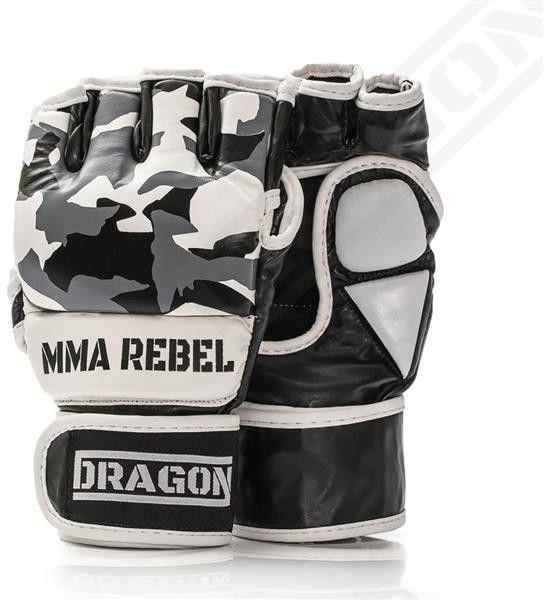 Dragon Sports rękawice MMA Rebel Moro czarne