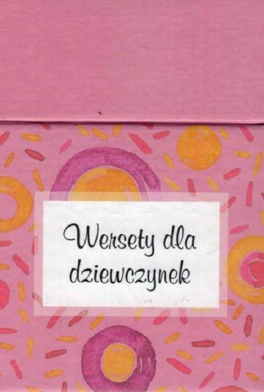 Wersety dla dziewczynek - pudełko z wersetami na kartach