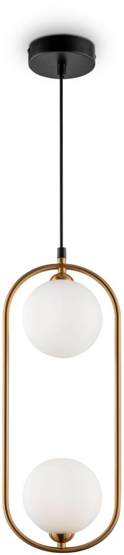 Lampa wisząca Ring MOD013PL-02BS Maytoni dekoracyjna oprawa w kolorze mosiądz