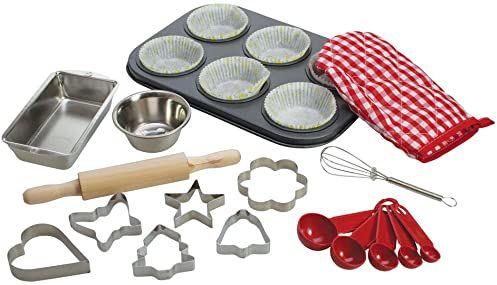 Bigjigs Toys Zestaw do pieczenia dla chłopca szefa kuchni
