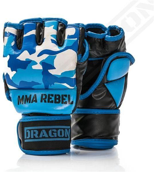 Dragon Sports rękawice MMA Rebel Moro niebieskie