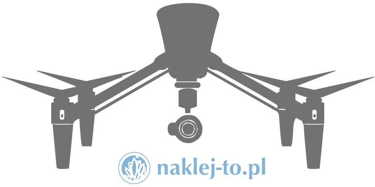 naklejka dron 3 naklejka na ścianę