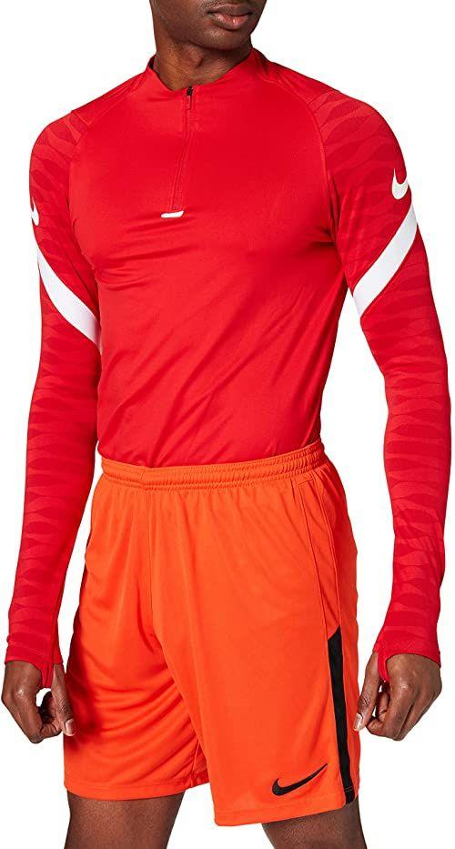 Nike Męskie League Knit II Short NB, pomarańczowy/czarny/czarny, 2XL
