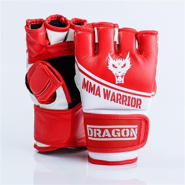 Dragon Sports rękawice MMA Warrior czerwone