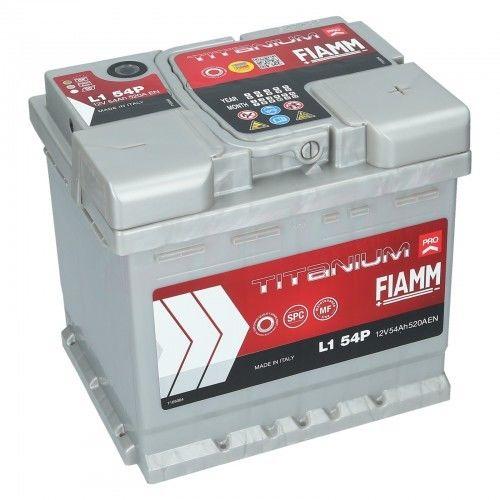 Akumulator Fiamm Titanium PRO L1 54P 12V 54Ah 520A (EN) P+