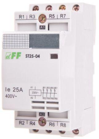 Stycznik modułowy 25A 4R 230V AC ST25-04