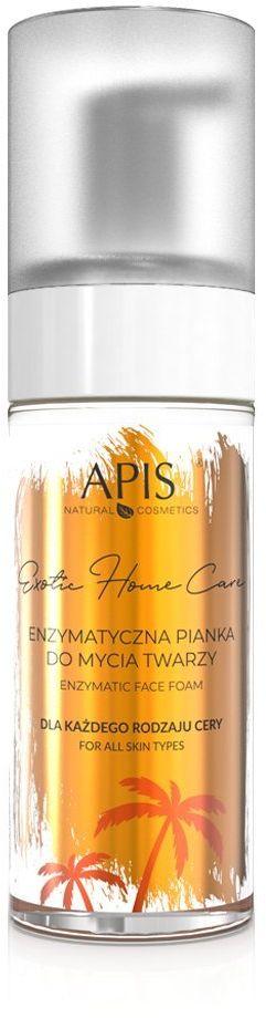 Enzymatyczna pianka do mycia twarzy Apis Exotic Home Care 150 ml