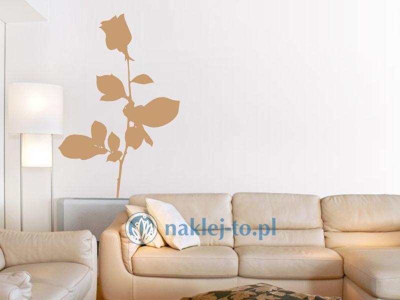 naklejka na ścianę róża 2 naklejka na ścianę