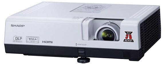 Projektor Sharp PG-D3050W + UCHWYT i KABEL HDMI GRATIS !!! MOŻLIWOŚĆ NEGOCJACJI  Odbiór Salon WA-WA lub Kurier 24H. Zadzwoń i Zamów: 888-111-321 !!!
