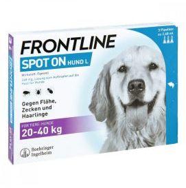 Frontline Spot-On dla Psów Dużych Ras L 3 Pipety