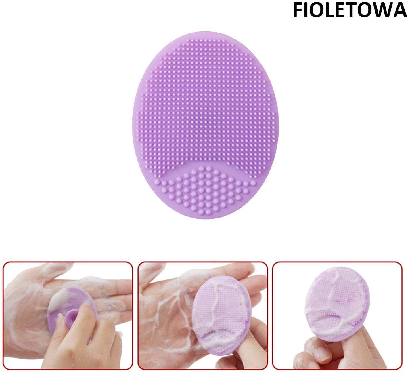 Silikonowa myjka do oczyszczania twarzy