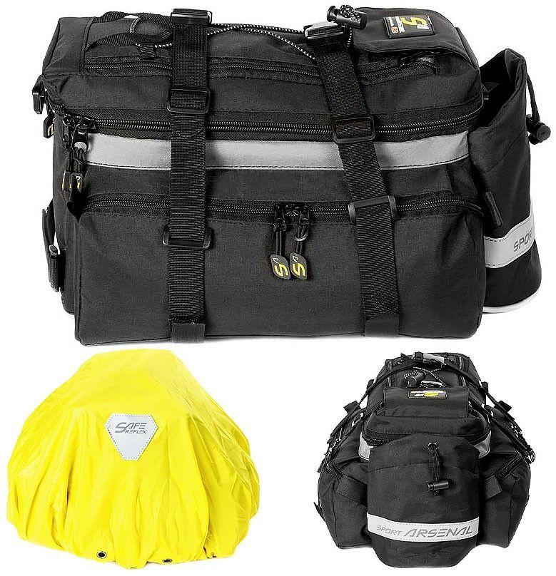 Sakwa na bagażnik Sport Arsenal 450 czarna