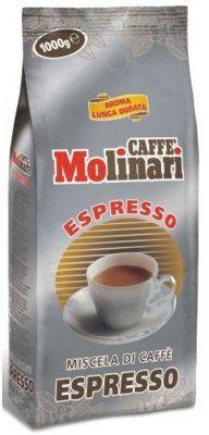 Kawa MOLINARI Espresso 1kg. Kup taniej o 40 zł dołączając do Klubu