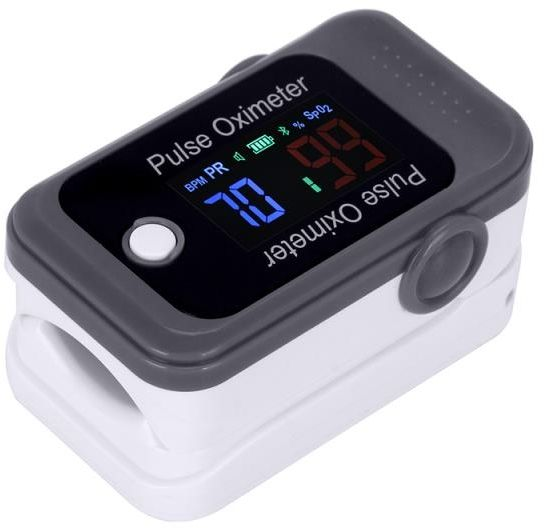 Pulsoksymetr Berry BM1000C z Bluetooth Pulsoksymetr z aplikacją na iOS i Android