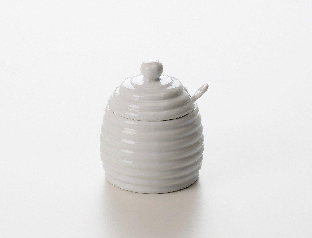 Maxwell & williams - accessories - pojemnik na miód z łyżeczką