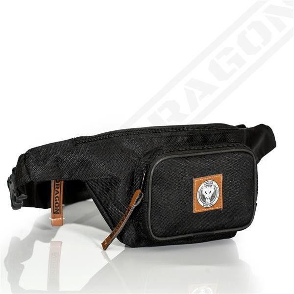 Dragon Sports saszetka, nerka Waist Bag Dragon czarna