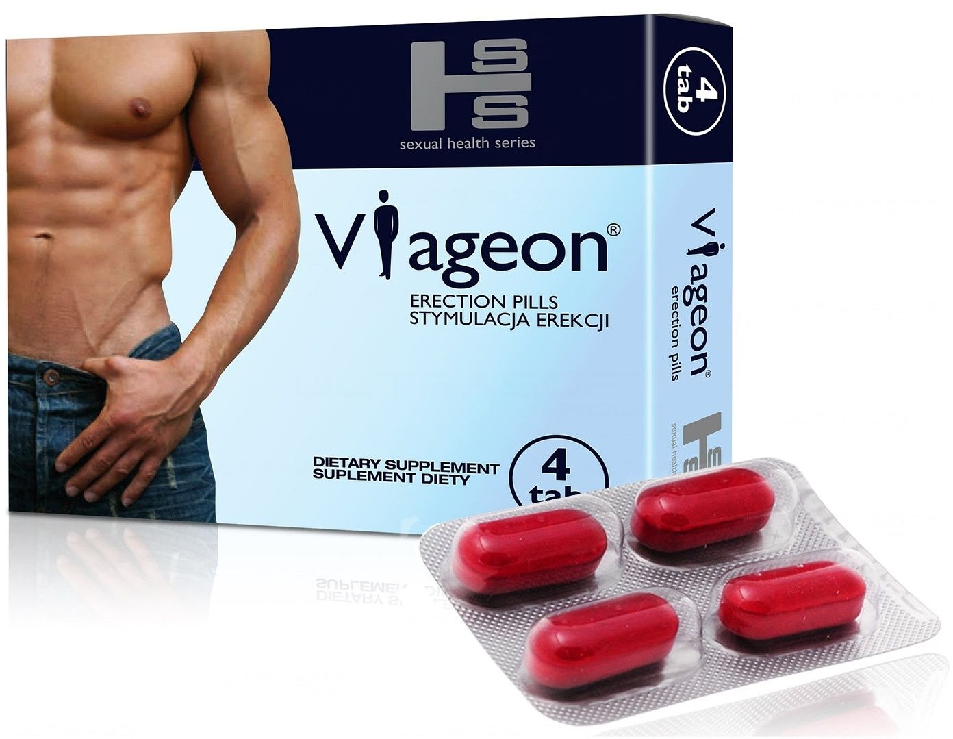 Viageon tabletki wzmacniające erekcje potencję