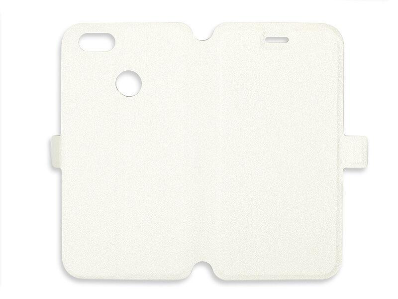Huawei P9 Lite Mini - zaprojektuj etui Wallet Book - biały