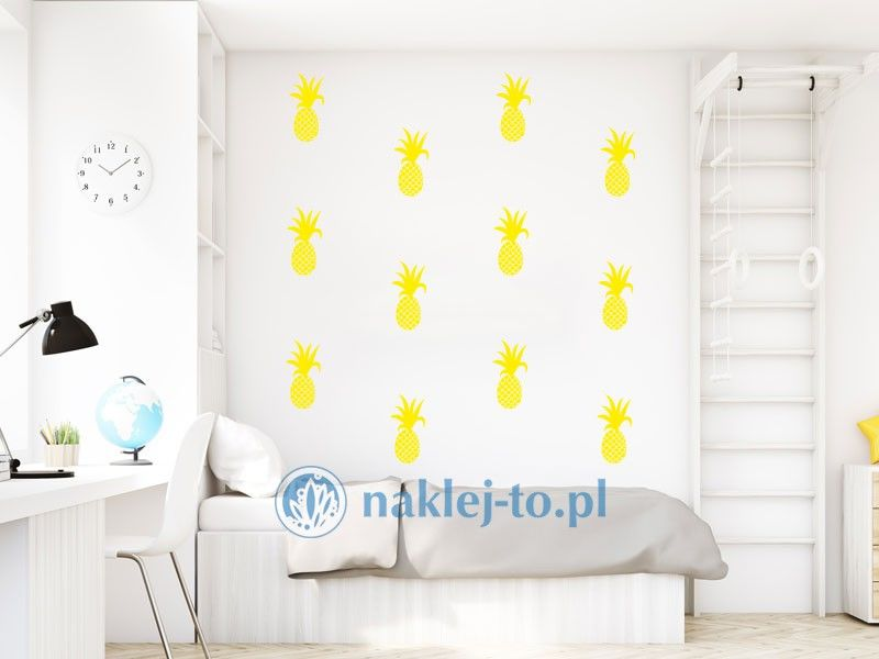 Ananas naklejka naklejka na ścianę