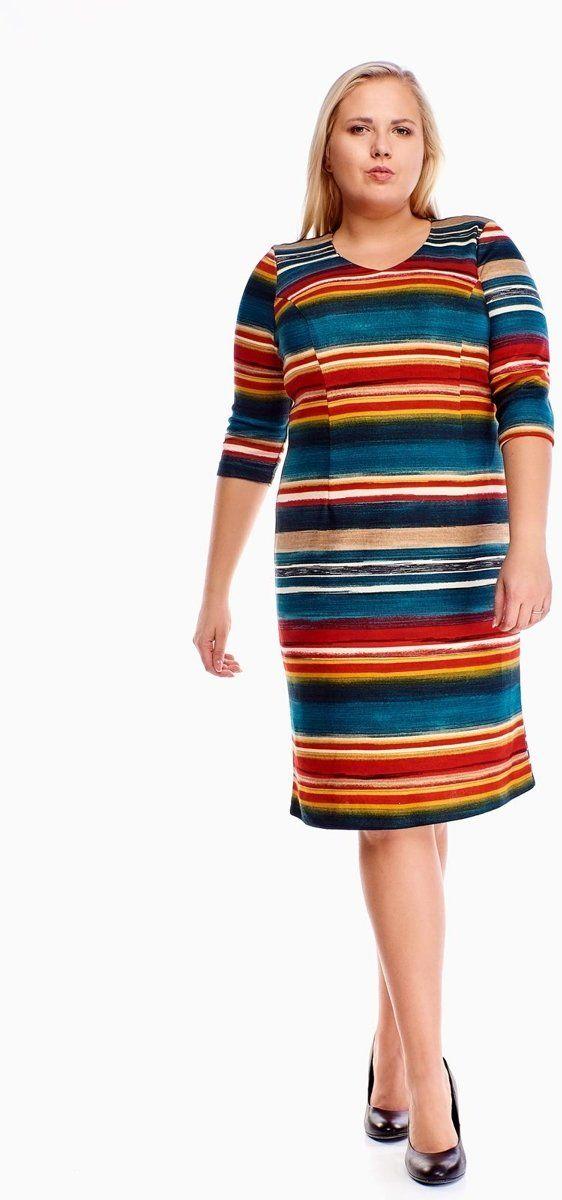 Sukienki Sukienka Sukienie FSU893 ZIELONY + AMARANTOWY pasy