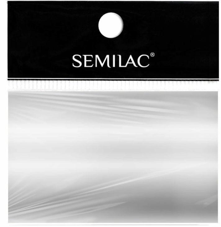 SEMILAC Folia transferowa 01 Silver srebrna foil