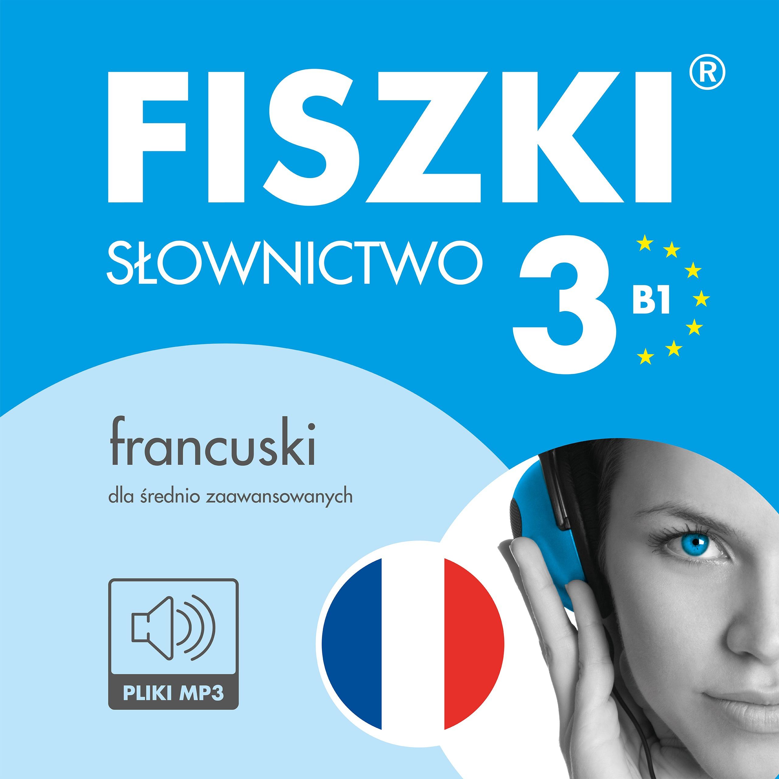 AUDIOBOOK - francuski - Słownictwo 3 (B1)