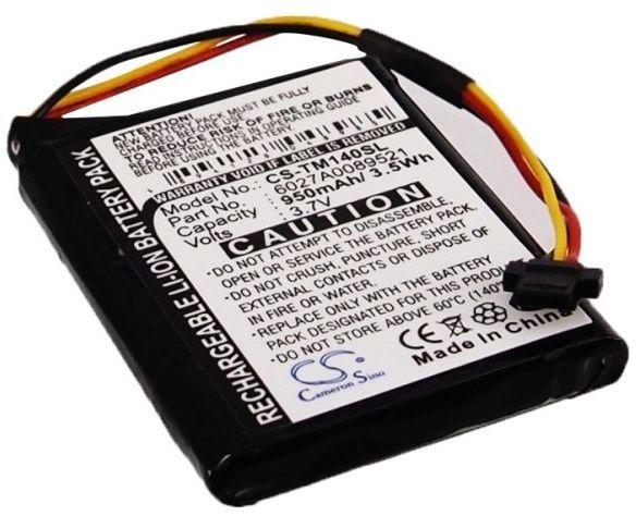 TomTom One 140 / P2 950mAh 3.51Wh Li-Ion 3.7V (Cameron Sino)
