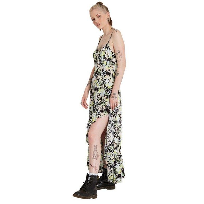 sukienka VOLCOM - Thats My Type Maxi Dress Lime (LIM)