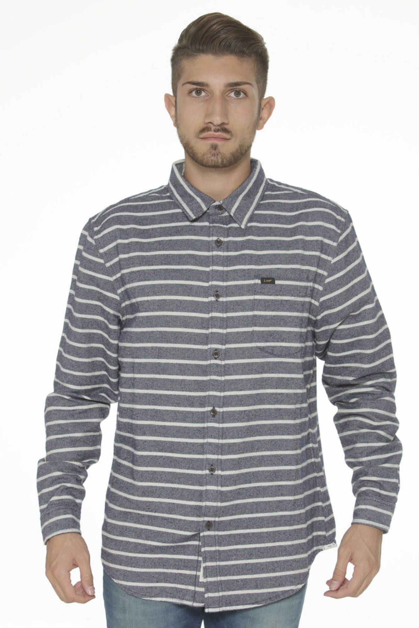 Koszula męska z długim rękawem LEE