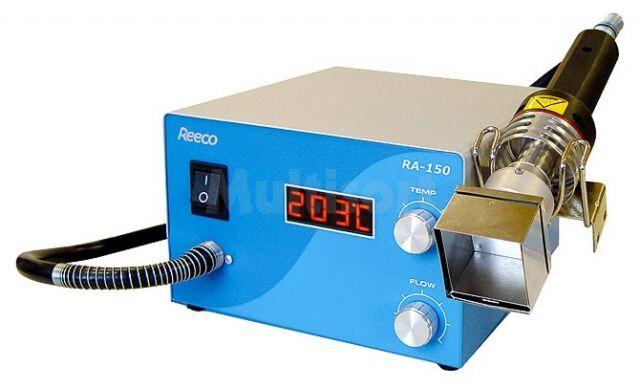 Stacja na gorące powietrze REECO cyfrowa 600W 150 475 C