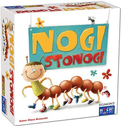 NOGI STONOGI gra planszowa dla całej rodziny