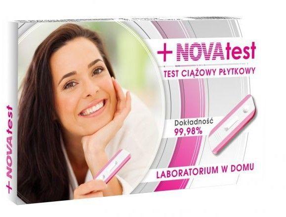 Test ciążowy płytkowy NOVAtest, 1 sztuka