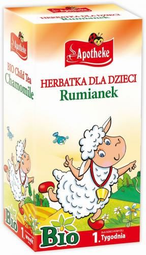 Herbatka dla dzieci - RUMIANKOWA BIO (20 x 1,5 g) - Apotheke