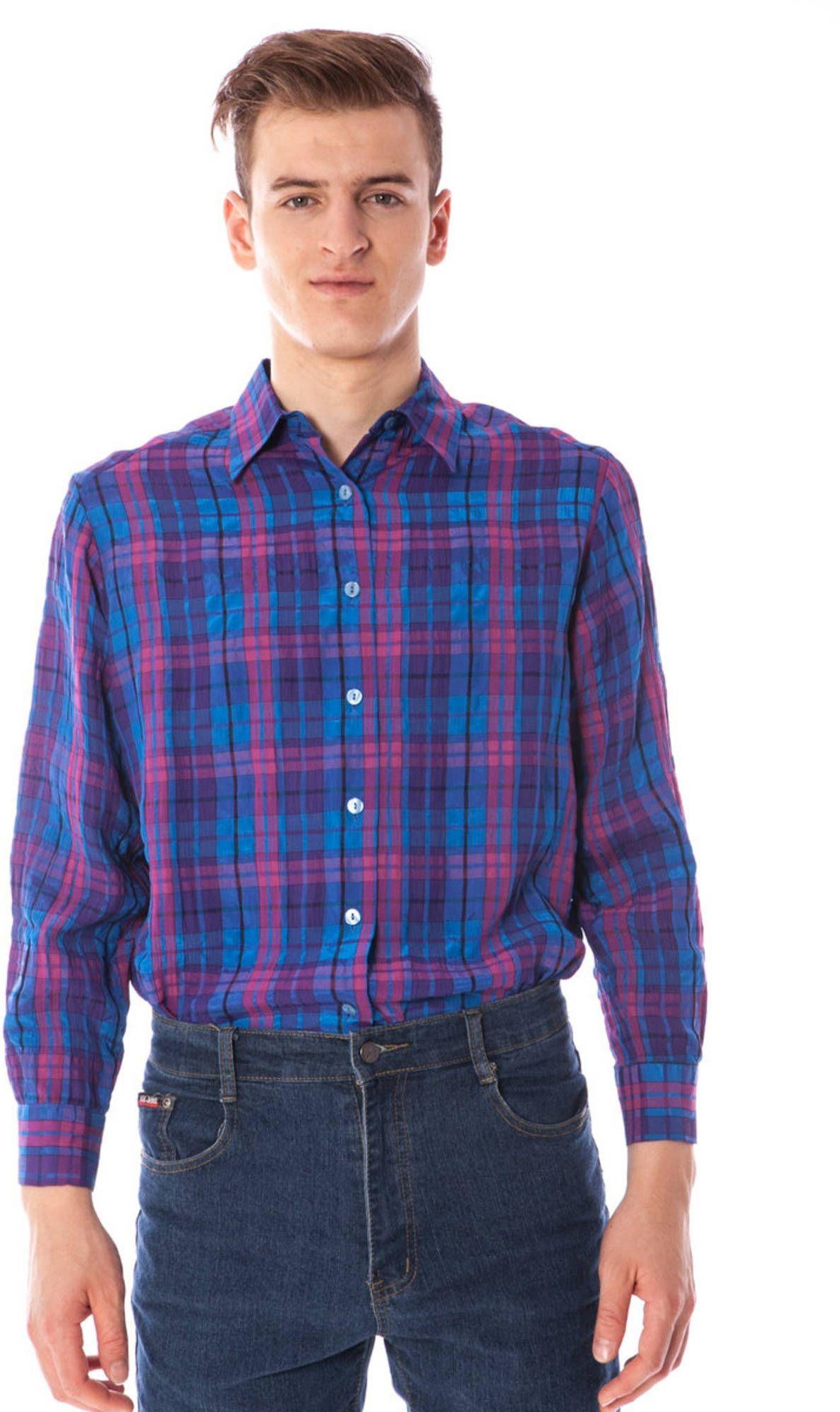LINEA VERDE Koszula z długim rękawem dla mężczyzn