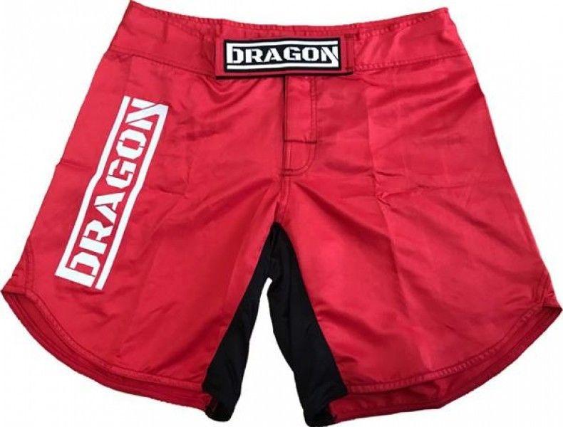 Dragon Sports spodenki MMA Dragon czerwone