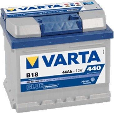 Akumulator VARTA Blue Dynamic B18 12V 44Ah 440A (EN) P+