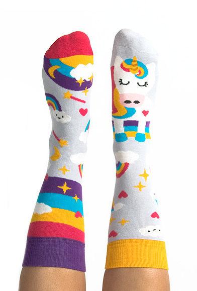 Skarpety kolorowe z serii Happy Friends Unicorn