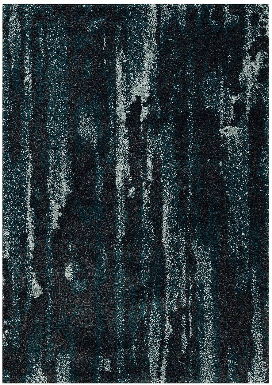 Dywan Softness near black/peacock blue 120x170cm
